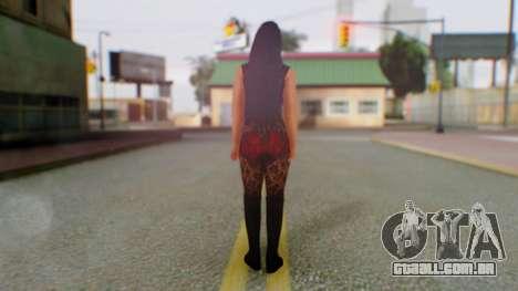 WWE Aksana para GTA San Andreas terceira tela