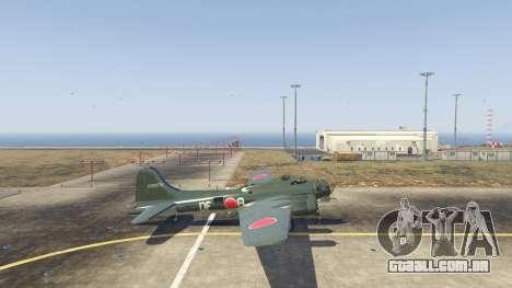 Boeing B-17 Flying Fortress para GTA 5