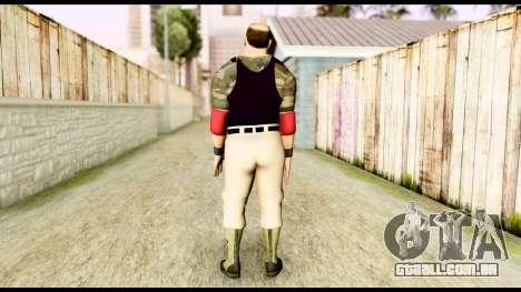 WWE Sgt Slaughter 2 para GTA San Andreas terceira tela