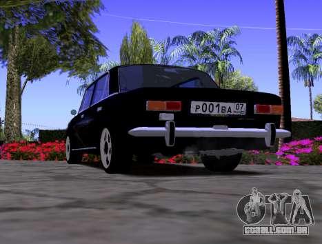VAZ 2101 KBR para GTA San Andreas traseira esquerda vista