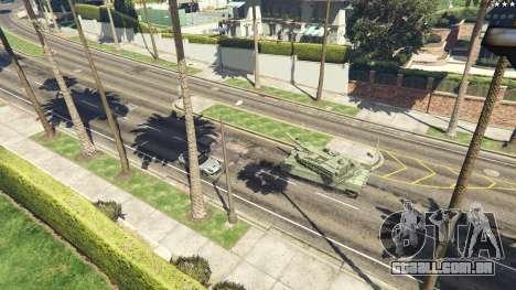 GTA 5 K2 Black Panther voltar vista