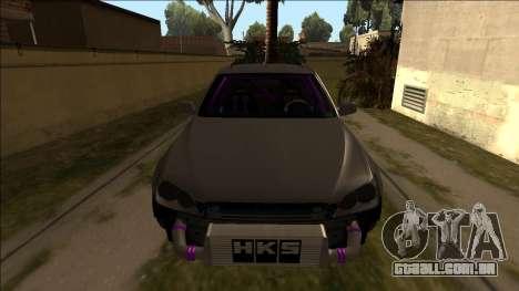 Lexus IS300 Drift para GTA San Andreas vista direita