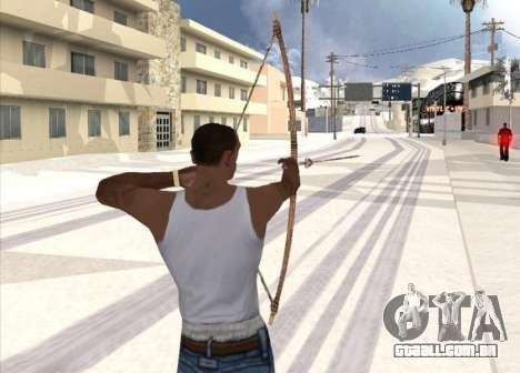 Tiro com arco para GTA San Andreas segunda tela