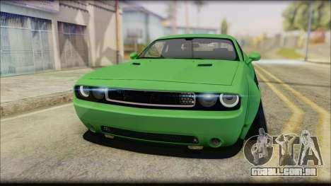 Dodge Challenger LB Perfomance para GTA San Andreas vista direita