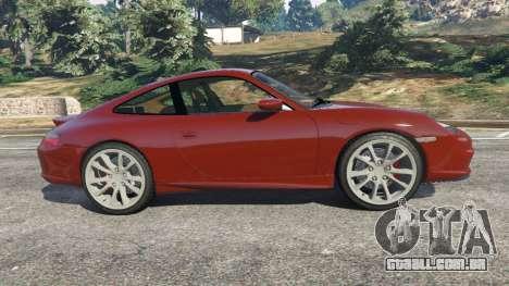 GTA 5 Porsche 911 GT3 2004 vista lateral esquerda