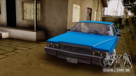 GTA 4 Albany Emperor para GTA San Andreas