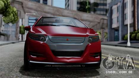 GTA 5 Cheval Surge IVF para GTA San Andreas traseira esquerda vista