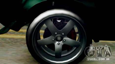 GTA 5 Imponte Nightshade para GTA San Andreas traseira esquerda vista