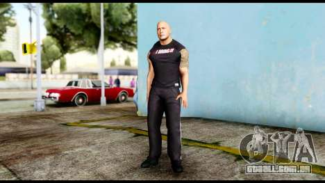 WWE The Rock 2 para GTA San Andreas segunda tela