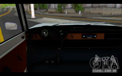 Wartburg 353 para GTA San Andreas traseira esquerda vista