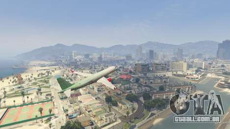 GTA 5 Embraer 195 Wind sétima screenshot