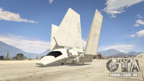 Star Wars: Imperial Shuttle Tydirium para GTA 5