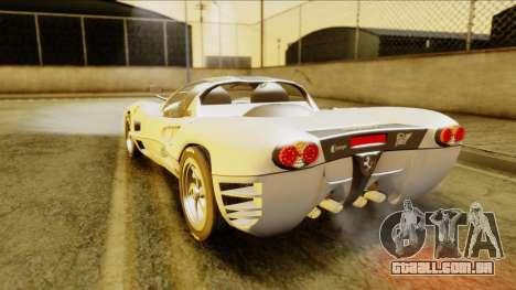 Ferrari P7 Spyder para GTA San Andreas esquerda vista