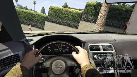 GTA 5 Nissan 200sx S14 Kouki voltar vista