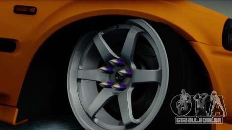 Honda Civic BC YAPIM para GTA San Andreas traseira esquerda vista