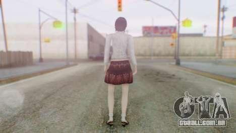 Fatal Frame 4 Madoka para GTA San Andreas terceira tela