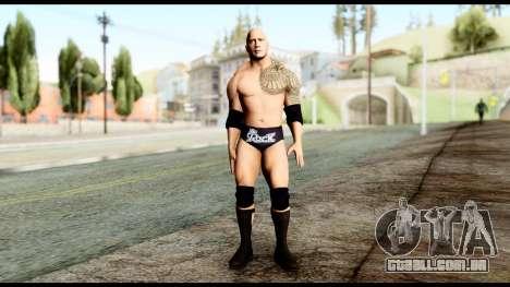 WWE The Rock para GTA San Andreas segunda tela