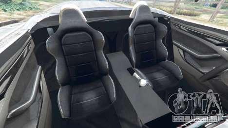 GTA 5 Jaguar F-Type 2014 vista lateral direita