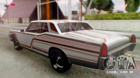 GTA 5 Vapid Chino Tunable para as rodas de GTA San Andreas