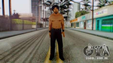 Jinder Mahal 1 para GTA San Andreas segunda tela