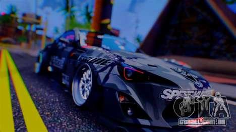 Aero Project Art 0.248 para GTA San Andreas quinto tela