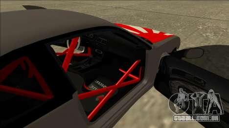 Nissan Silvia S14 Drift JDM para vista lateral GTA San Andreas