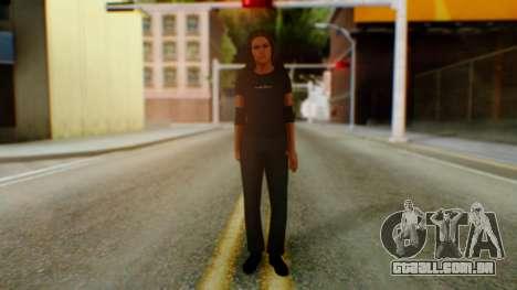 Stephani WWE para GTA San Andreas segunda tela