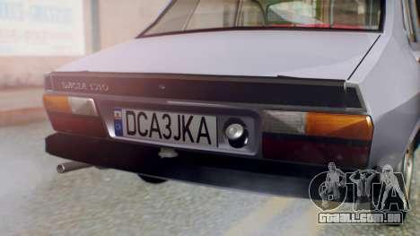 Dacia 1310 v2 para GTA San Andreas vista traseira