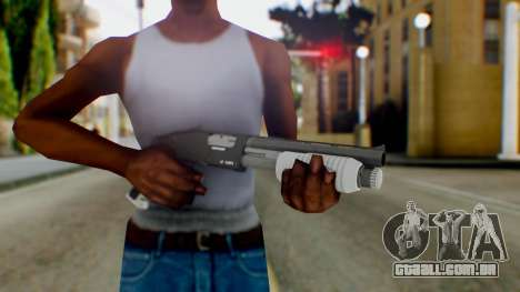 GTA 5 Sawed-Off Shotgun - Misterix 4 Weapons para GTA San Andreas terceira tela