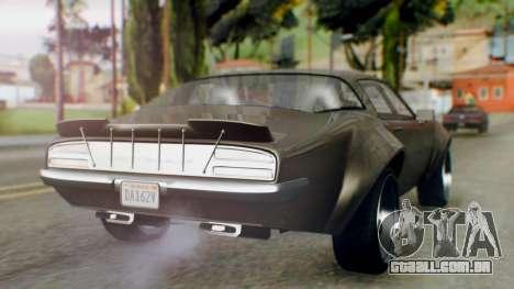 GTA 5 Imponte Nightshade IVF para GTA San Andreas esquerda vista