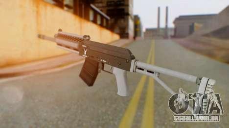GTA 5 Heavy Shotgun - Misterix 4 Weapons para GTA San Andreas segunda tela