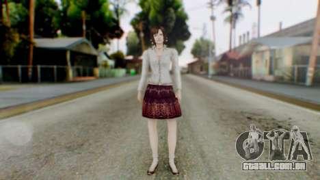 Fatal Frame 4 Madoka para GTA San Andreas segunda tela