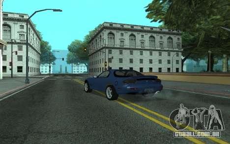 Mazda RX-7 Tunable para GTA San Andreas esquerda vista