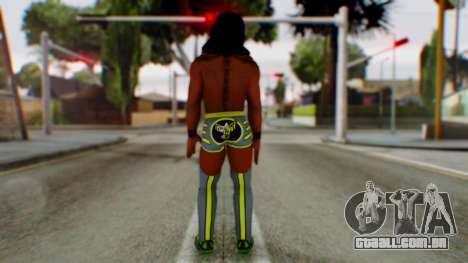 WWE Kofi para GTA San Andreas terceira tela