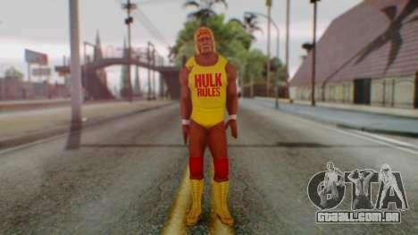 WWE Hulk Hogan para GTA San Andreas segunda tela