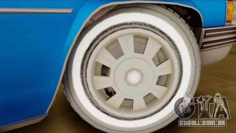 GTA 4 Albany Emperor para GTA San Andreas traseira esquerda vista