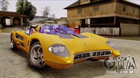 Ferrari P7 Cabrio para GTA San Andreas