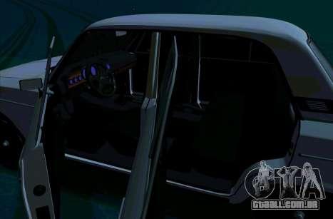 VAZ 2106 [ARM] para GTA San Andreas traseira esquerda vista