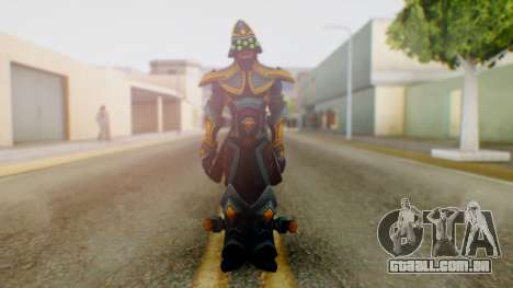 Masteryi League of Legends Skin para GTA San Andreas segunda tela