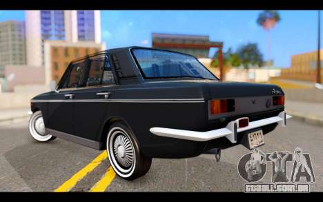 Peykan 1347 Classic para GTA San Andreas esquerda vista
