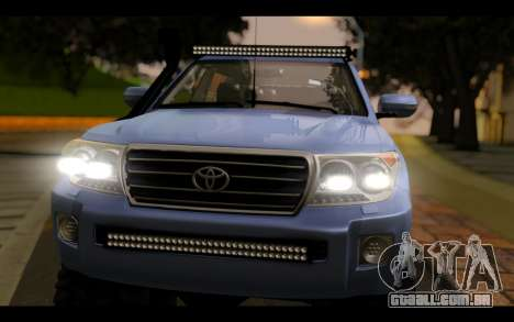 Toyota Land Cruiser 200 2013 Off Road para GTA San Andreas vista direita