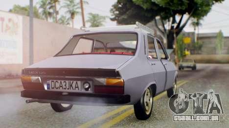 Dacia 1310 v2 para GTA San Andreas esquerda vista
