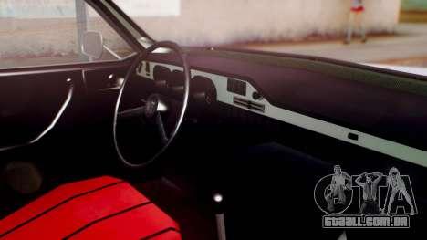 Dacia 1310 v2 para GTA San Andreas vista direita