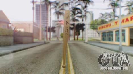Vice City Baseball Bat para GTA San Andreas segunda tela