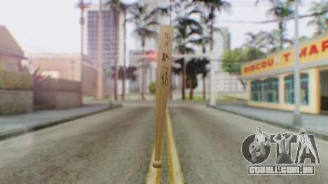 Vice City Baseball Bat para GTA San Andreas segunda tela