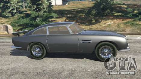 GTA 5 Aston Martin DB5 Vantage 1965 vista lateral esquerda