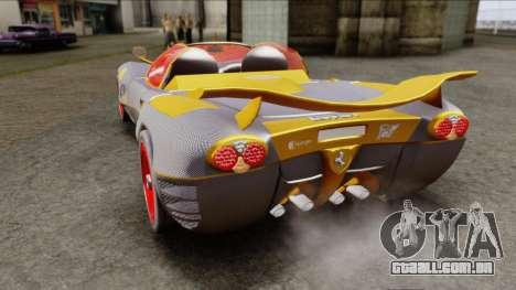 Ferrari P7 Carbon para GTA San Andreas traseira esquerda vista