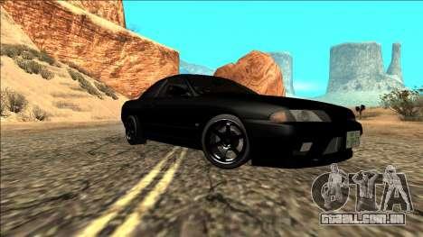 Nissan Skyline R32 Drift para GTA San Andreas vista traseira