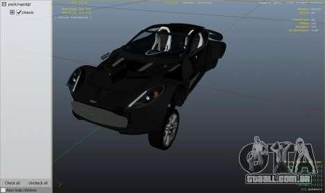 Roda GTA 5 2012 Aston Martin One-77 v1.0