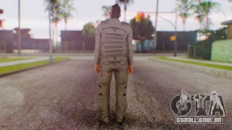 GTA Online Executives and other Criminals Skin 2 para GTA San Andreas terceira tela